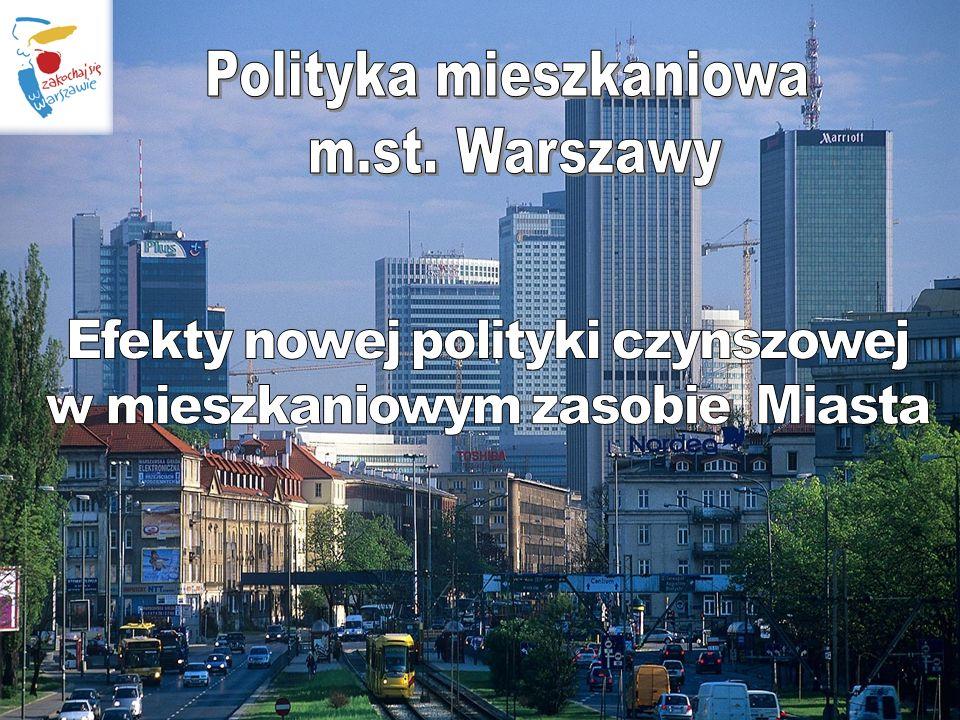Warszawa, kwiecień 2010 r. Liczba lokali socjalnych