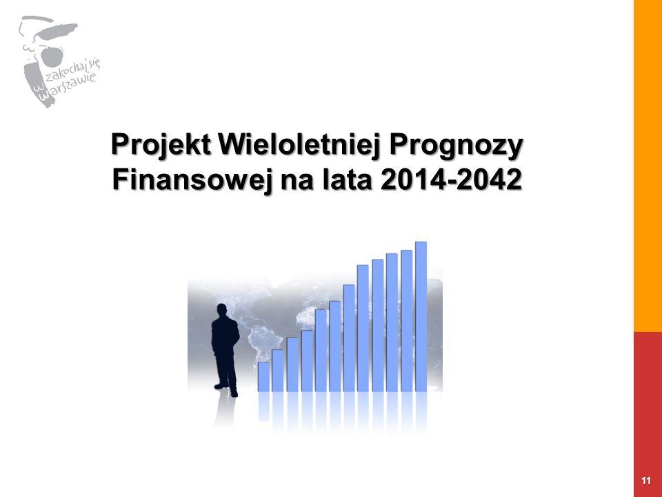 11 Projekt Wieloletniej Prognozy Finansowej na lata 2014-2042