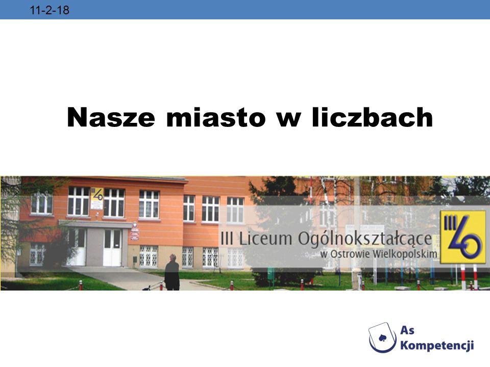 Wariancj ą liczby ludno ś ci Ostrowa Wielkopolskiego na przestrzeni lat od 1939 do 2009 jest liczba 185 924 120.