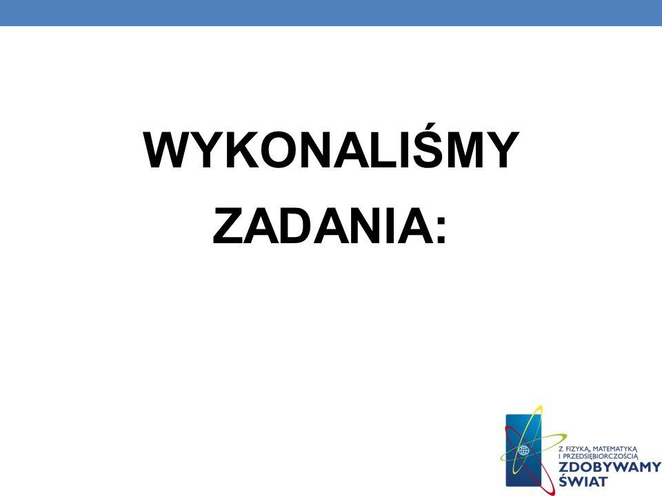 1. Fizyka i astronomia gimnazjum WSiP / płyta cz.1 2. Świat fizyki ZamKor / materiały multimedialne cz.1 3. Programy symulacyjne / www.ZamKor.pl 4. Fi