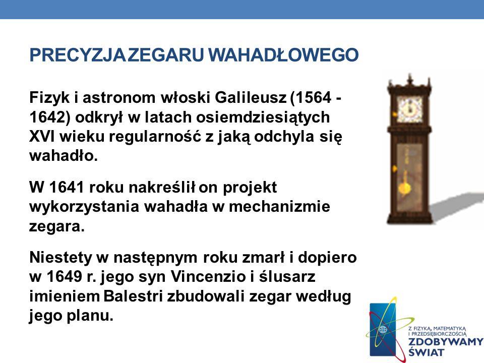 ZEGARY BIJĄCE Około 1330 r. Wprowadzono we Włoszech zegary, które wskazywały godzinę wybijając odpowiednią ilość dźwięków.