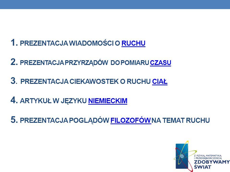 1.Fizyka i astronomia gimnazjum WSiP / płyta cz.1 2.