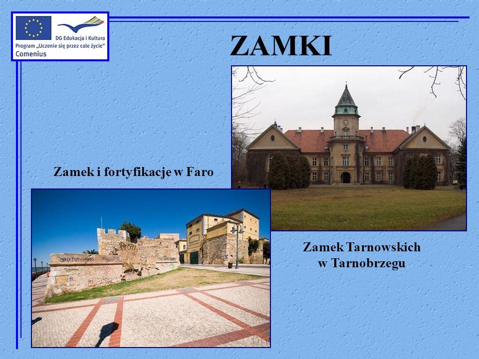 ZAMKI Zamek i fortyfikacje w Faro Zamek Tarnowskich w Tarnobrzegu