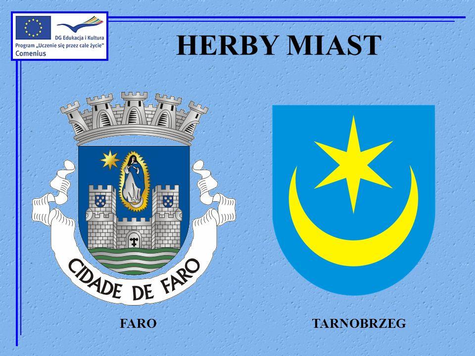 FLAGI MIAST FARO TARNOBRZEG
