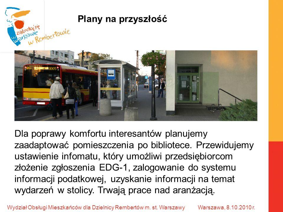 Wydział Obsługi Mieszkańców dla Dzielnicy Rembertów m.