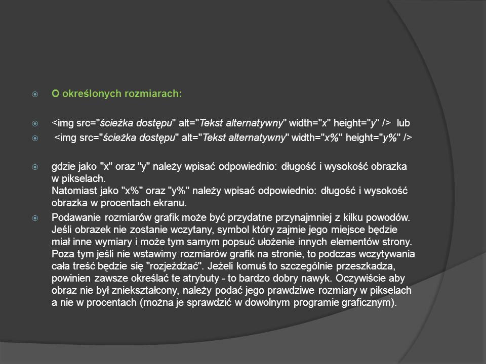Z obramowaniem: gdzie jako n należy wpisać grubość obramowania (w pikselach).