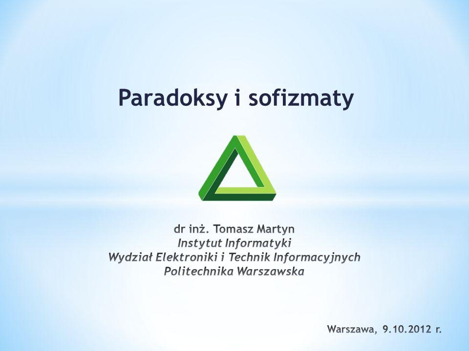 Paradoksy i sofizmaty
