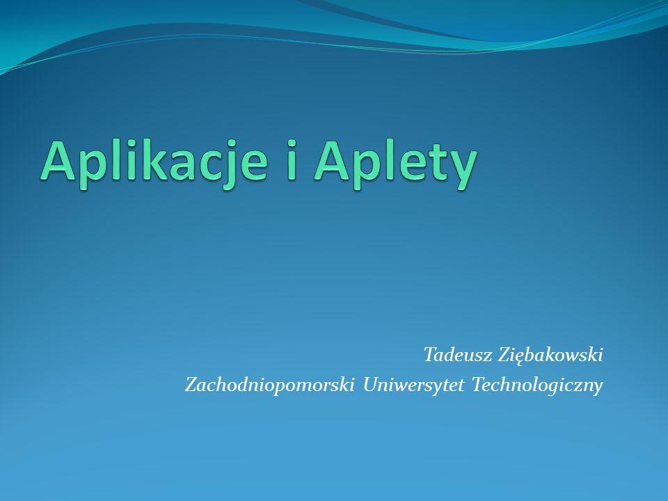 Tadeusz Ziębakowski Zachodniopomorski Uniwersytet Technologiczny