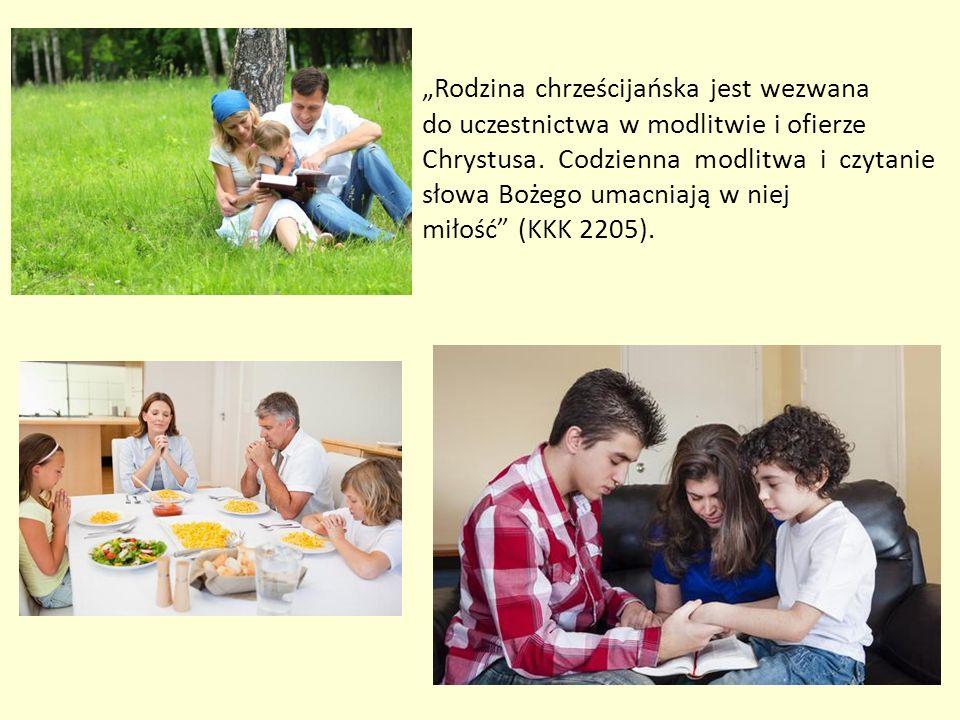 Rodzina jest wspólnotą, w której od dzieciństwa można nauczyć się wartości moralnych, zacząć czcić Boga i dobrze używać wolności.
