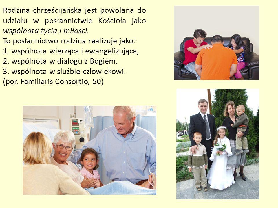 Drodzy rodzice, musicie czynić wszystko, aby Bóg był obecny i czczony w waszych rodzinach.