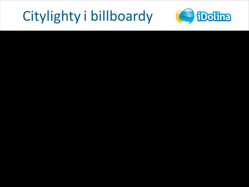 Citylighty i billboardy