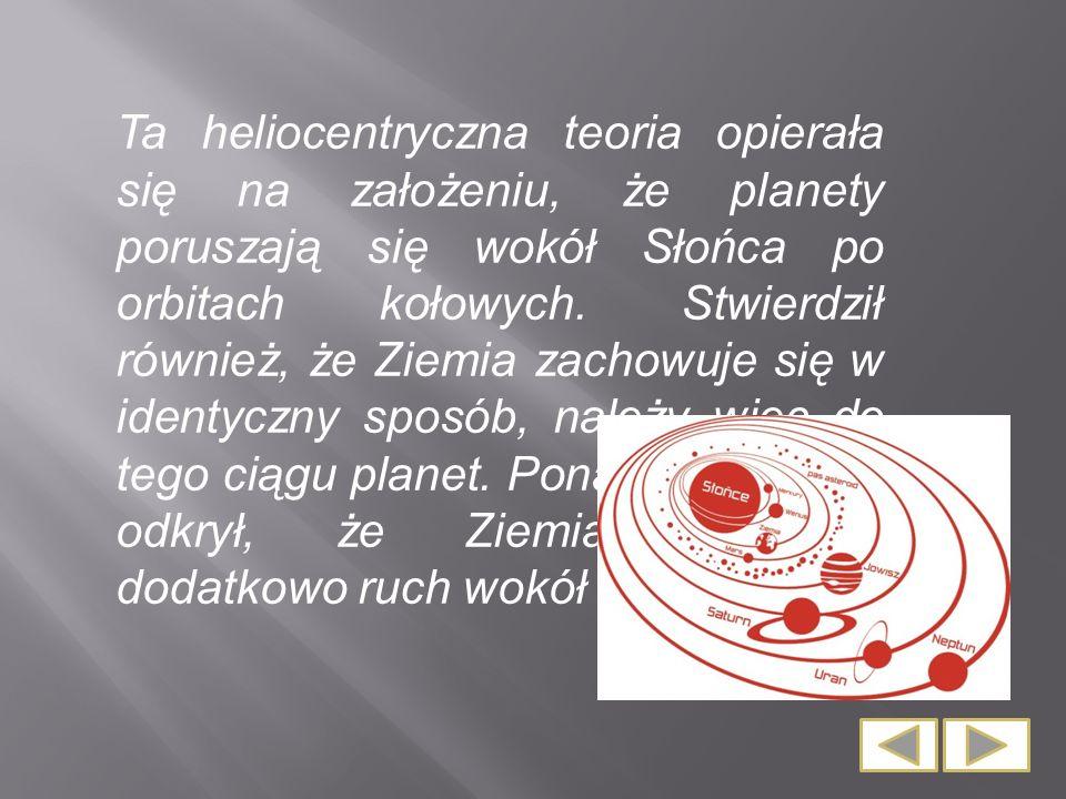 Odlany z brązu pomnik przedstawia Kopernika odzianego w togę profesorską, który trzyma w lewej ręce sferę armilarną (przyrząd astronomiczny), a palcem prawej dłoni wskazuje niebo.