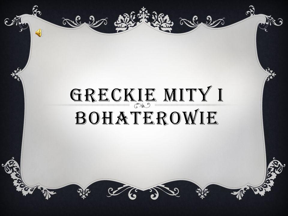 GRECKIE MITY I BOHATEROWIE