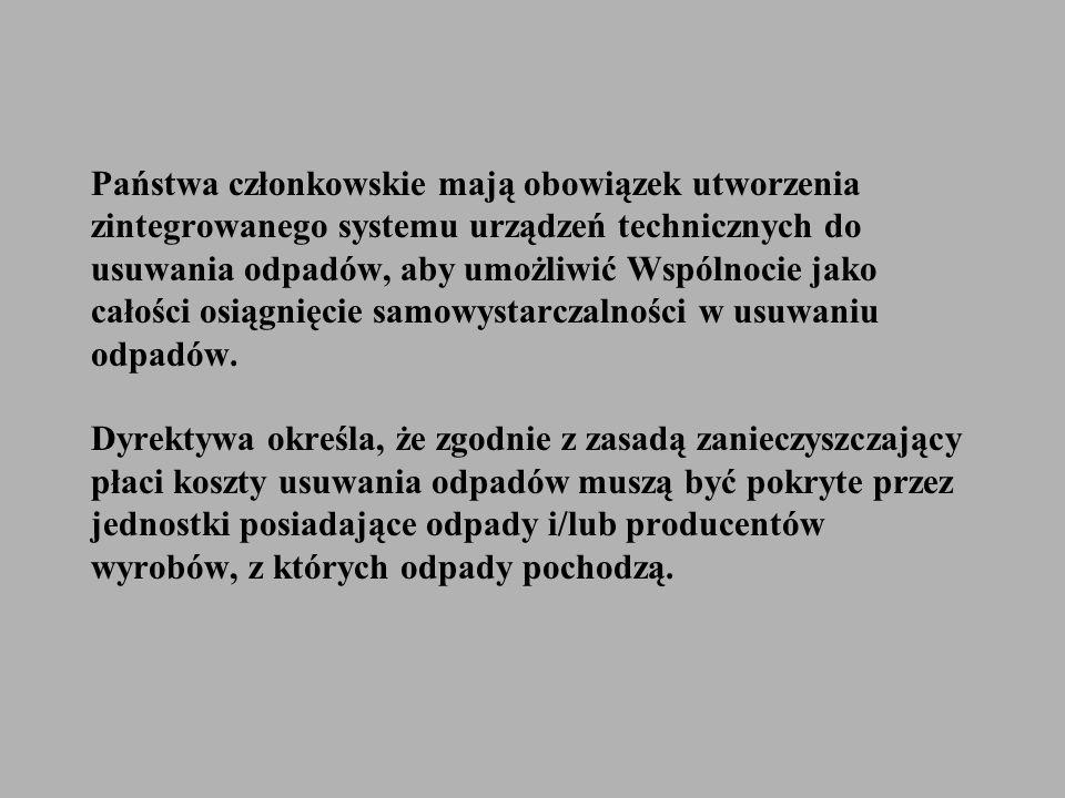 W Polskich odpadach komunalnych zużyte opakowania, a szczególnie opakowania jednorazowego użycia, są głównym składnikiem.