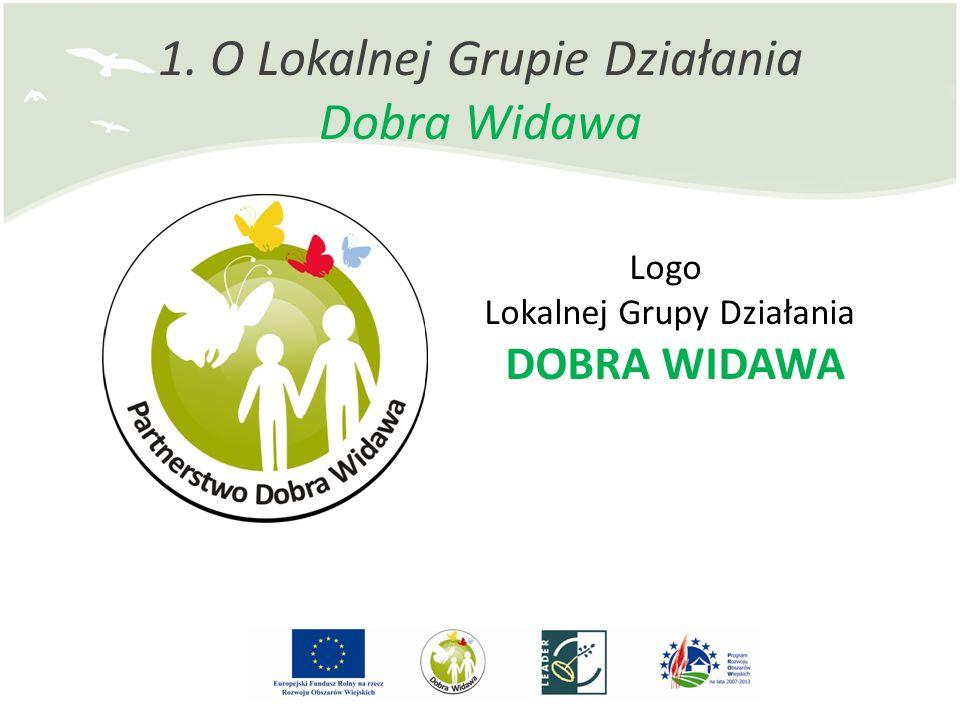 1. O Lokalnej Grupie Działania Dobra Widawa Logo Lokalnej Grupy Działania DOBRA WIDAWA