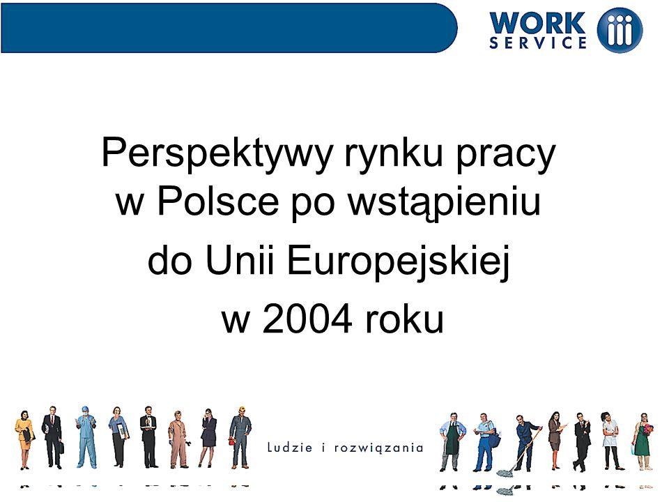 Perspektywy rynku pracy w Polsce po wstąpieniu do Unii Europejskiej w 2004 roku