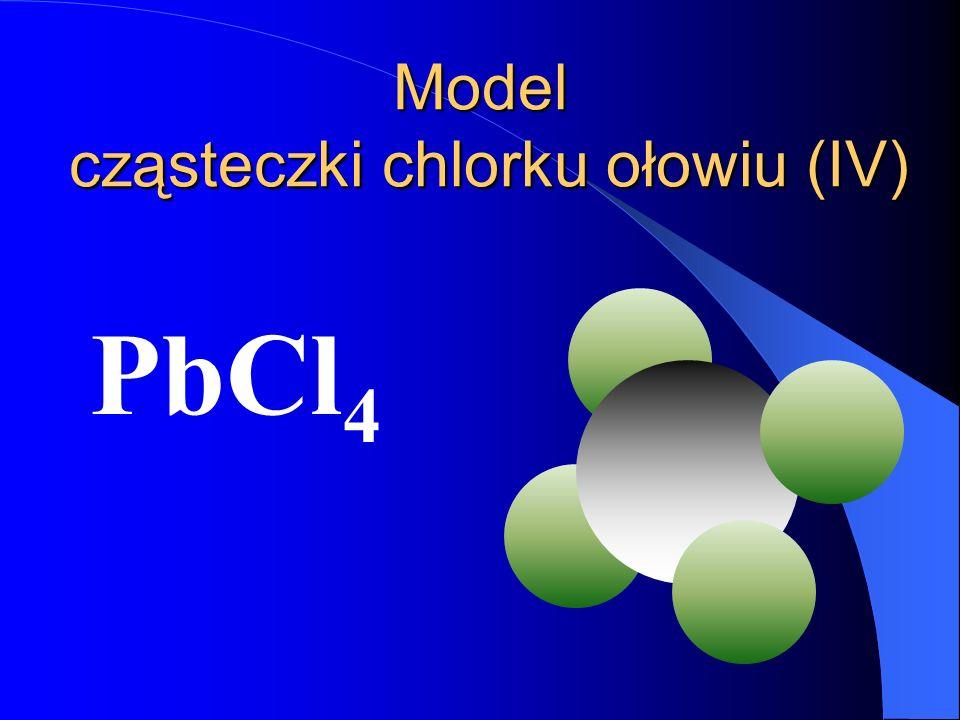 Cząsteczka chlorku ołowiu (IV) Pb Cl 4 IV I Wartościowości IV i I są podzielne przez siebie bez reszty IV : I = 4 Wzór sumarycznyWzór strukturalny Pb