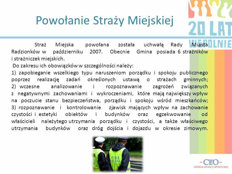 Wybrane wypowiedzi mieszkańców Radzionkowa zebrane podczas udzielanych wywiadów: Dla mnie samorząd to mieszkańcy naszego miasta.