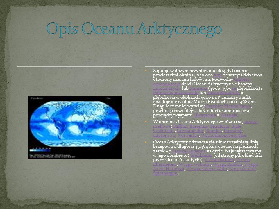 Atlantycki Ocean, Atlantyk, drugi co do wielkości ocean na Ziemi (po Oceanie Spokojnym).