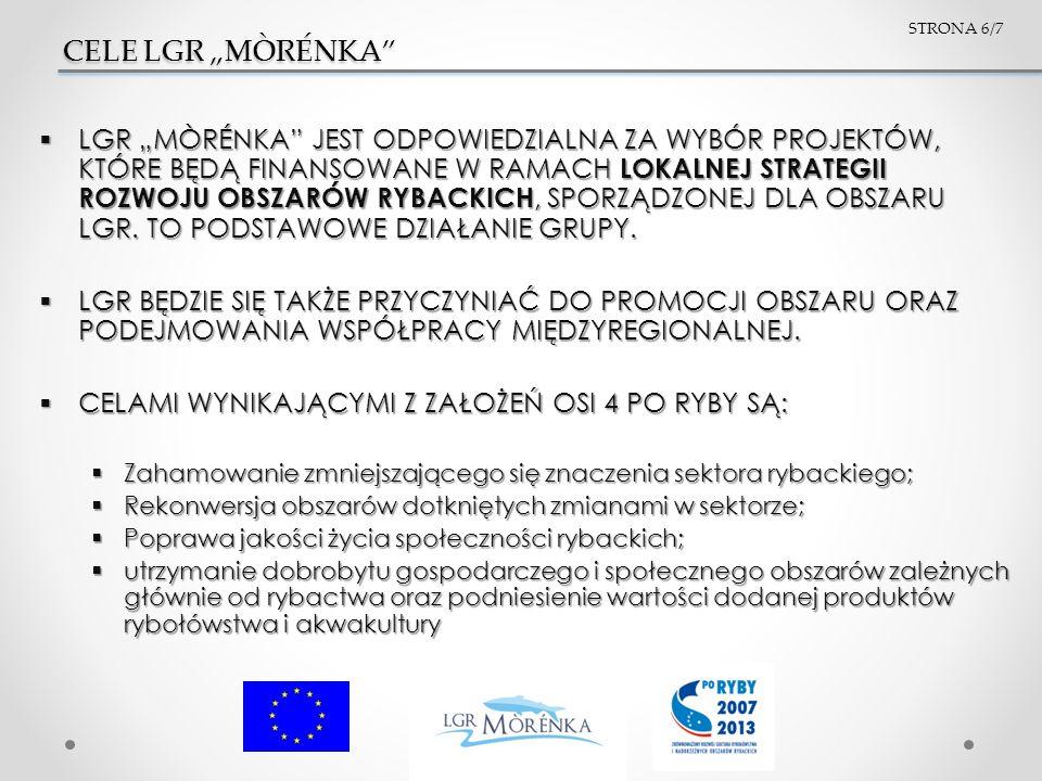 KONTAKT Biuro LGR Mòrénka Biuro LGR Mòrénka ul.Gimnazjalna 7/5 89-600 Chojnice tel.