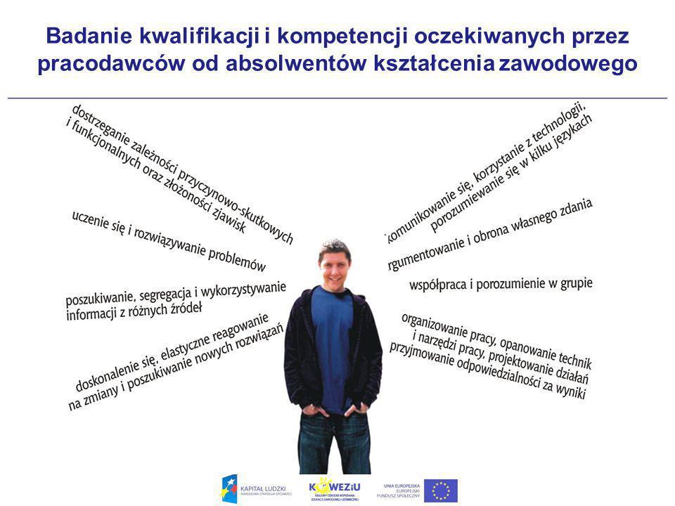 Badanie kwalifikacji i kompetencji oczekiwanych przez pracodawców od absolwentów kształcenia zawodowego