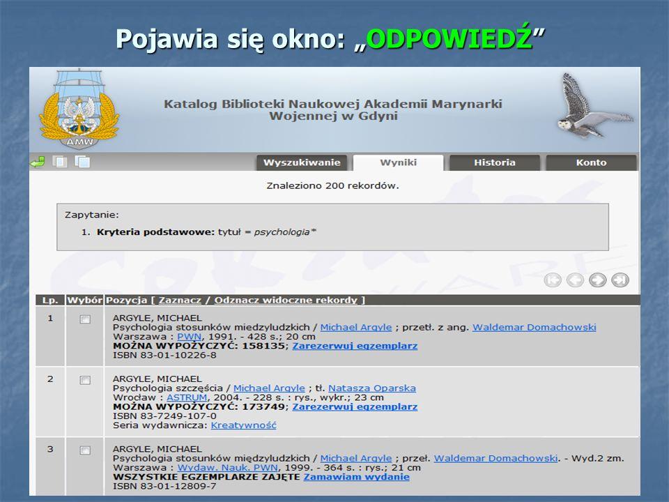 K O N I E C Opracowanie techniczne Katarzyna Zajączkowska