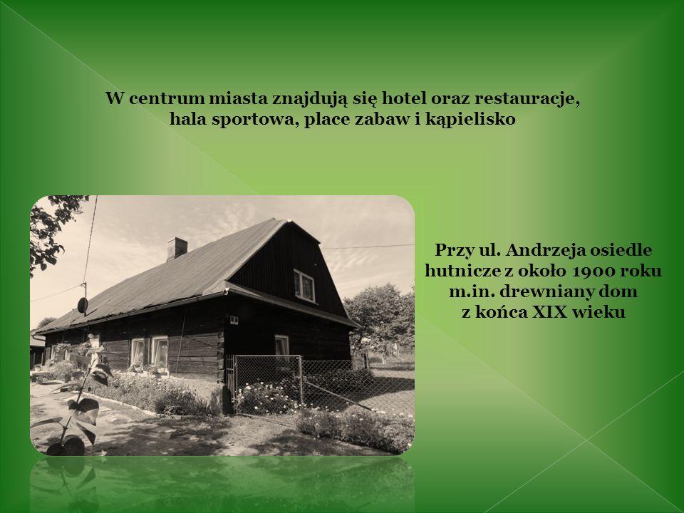 Domy osiedli robotniczych z XIX w.przy ul. Miarki, ul.