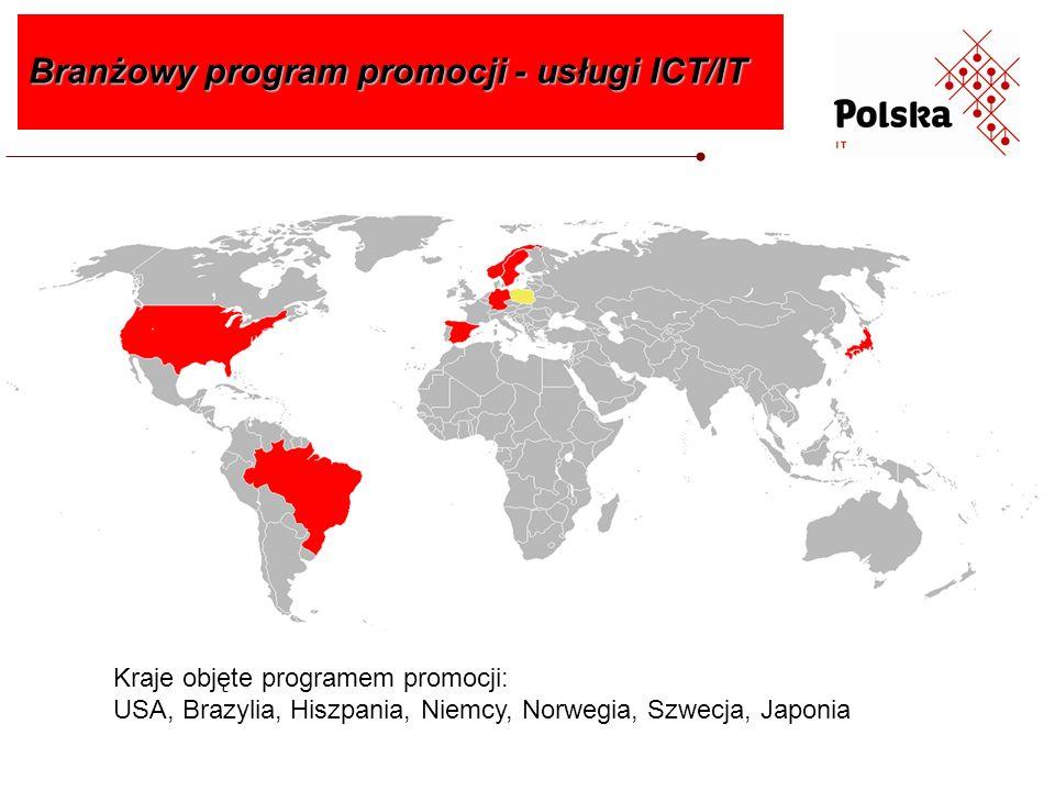 Program obejmuje 3 lata: 2012, 2013 i 2014 i częściowo 2015 Imprezy targowe objęte dofinansowaniem: Branżowy program promocji - usługi ICT/IT IT-Innovation Expo, Goteborg (Szwecja) 01.2014 r., 01.2015 r.