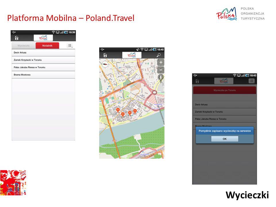 Wycieczki Platforma Mobilna – Poland.Travel