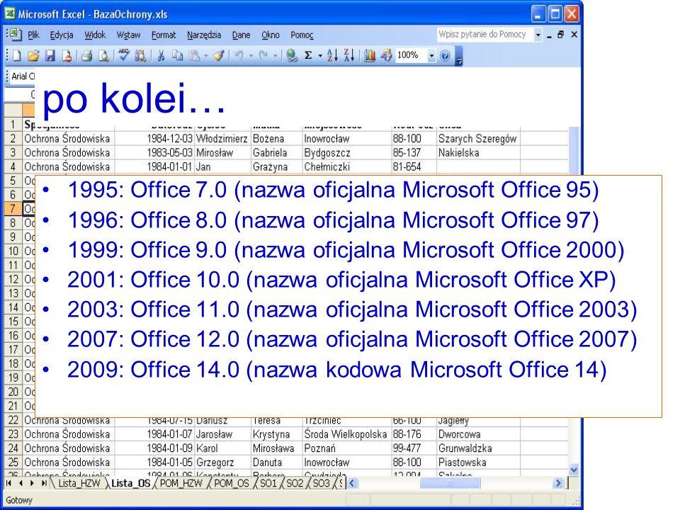 Etykiety Etykiety pozwalają zidentyfikować zdefiniowany wcześniej przez użytkownika fragment arkusza roboczego.