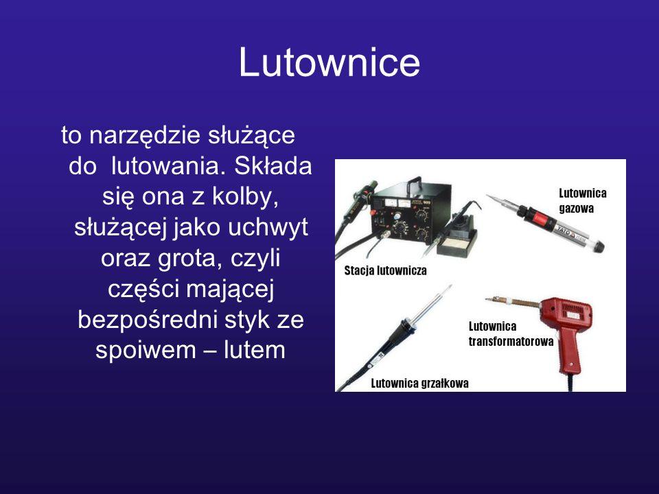 Sondy logiczne i inpulsatory Inpulsatory- Pozwala na sprawdzenie sygnału w badanym obwodzie.