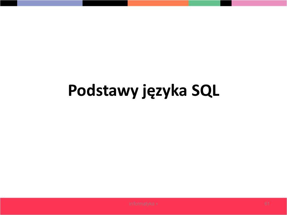 Podstawy języka SQL informatyka +61