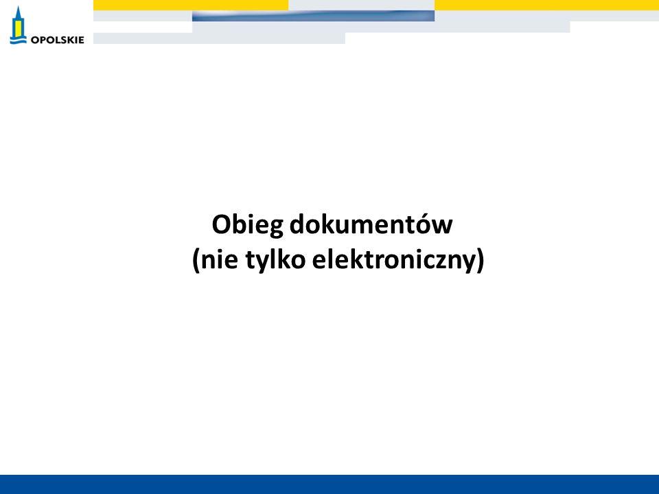 Obieg dokumentów (nie tylko elektroniczny)