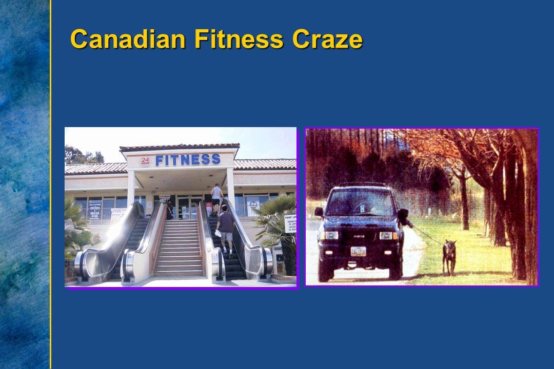Canadian Fitness Craze