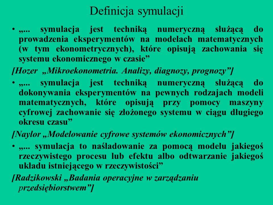 Definicja symulacji...
