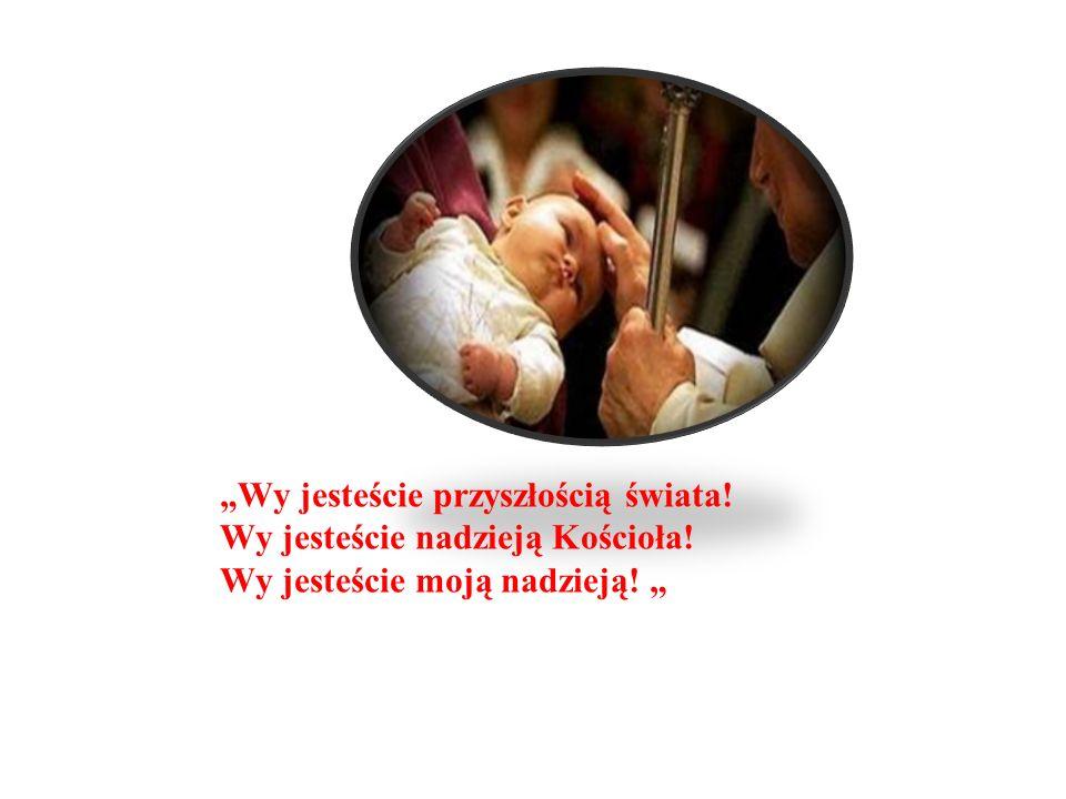 Wy jesteście przyszłością świata! Wy jesteście nadzieją Kościoła! Wy jesteście moją nadzieją!
