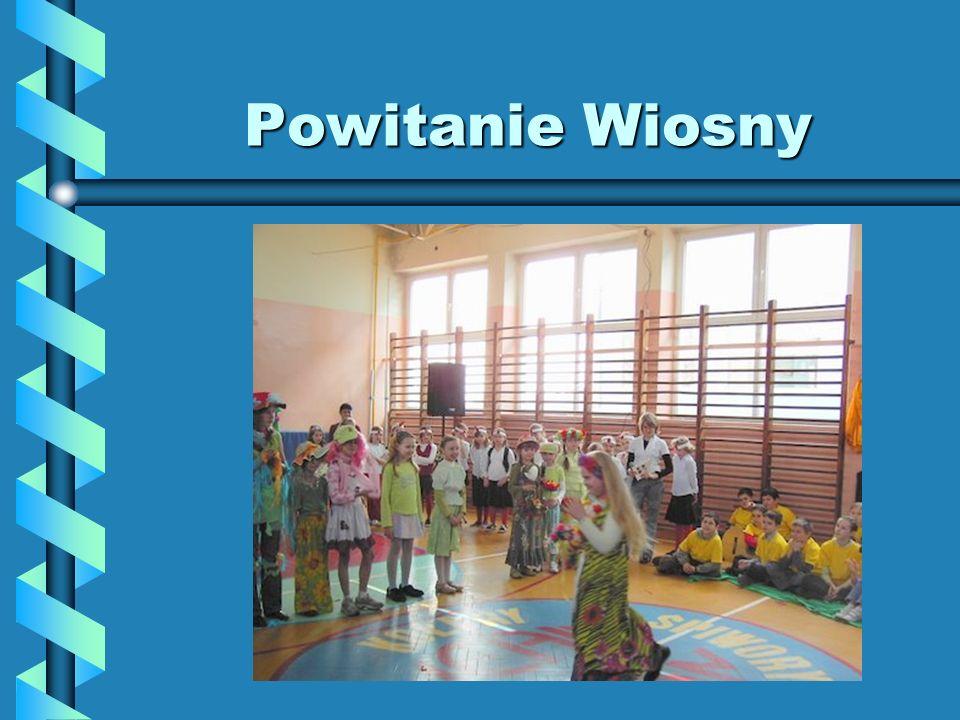 Powitanie Wiosny Samorząd Uczniowski włączył się w przygotowania uroczystości Powitania Wiosny – zorganizowano i przeprowadzono konkursy.