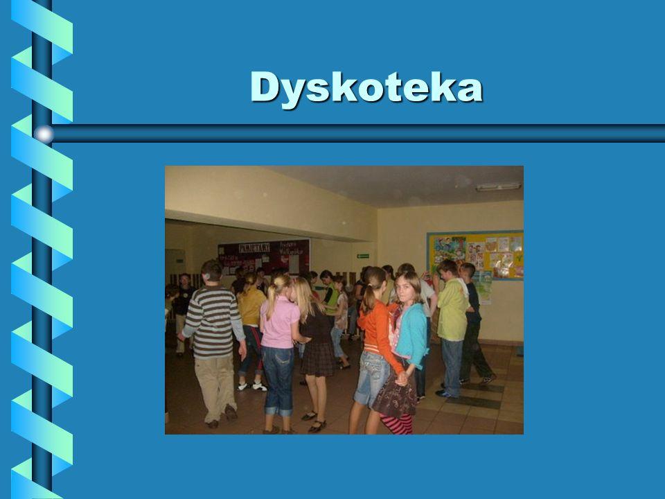 Dyskoteka W sobotę 28 marca SU zorganizował dyskotekę, na której uczniowie naszej szkoły bawili super...