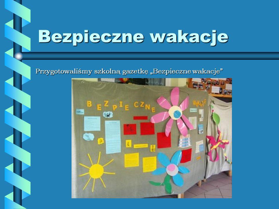 Z życia szkoły Z życia szkoły Przygotowaliśmy szkolną gazetkę Z życia szkoły.