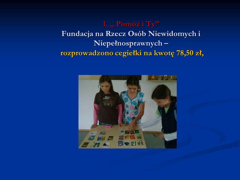 Zabawy i dyskoteki szkolne Sekcja organizacyjna zorganizowała zabawę andrzejkową z tradycyjnymi wróżbami dla klas IV-VI.