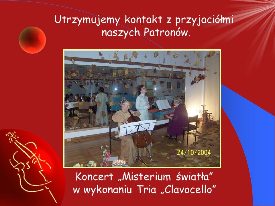 Wieczornica w 10 rocznicę śmierci Kazimierza Wiłkomirskiego i Marii Wiłkomirskiej, która odbyła się z udziałem Pani Teresy Wiłkomirskiej