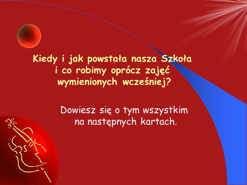 Pani Teresa Wiłkomirska kilka razy z rzędu zaszczyciła nas swoją obecnością nie szczędząc uczniom ciepłych słów.