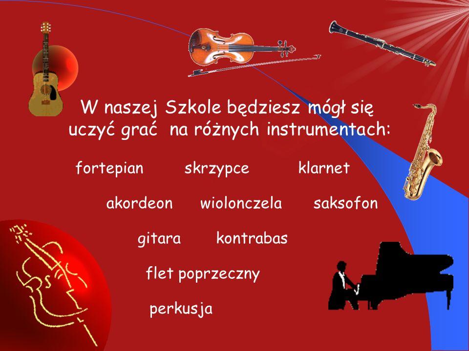 Witamy w progach naszej Szkoły. Skoro oglądasz teraz tę prezentację to znaczy, że jesteś zainteresowany edukacją muzyczną. Jeśli chcesz się uczyć grać
