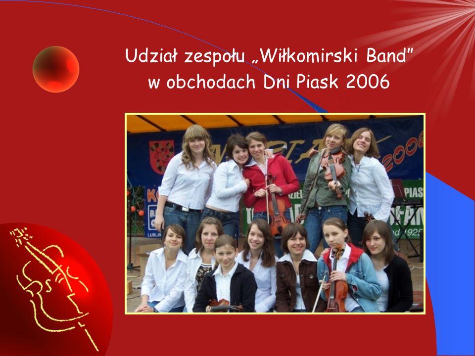 Udział zespołu smyczkowego w obchodach Święta Niepodległości w Piaskach