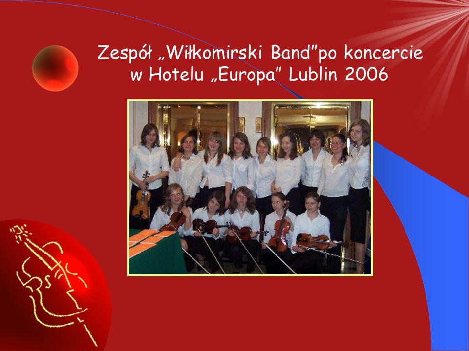 Udział zespołu Wiłkomirski Band w obchodach Dni Piask 2006