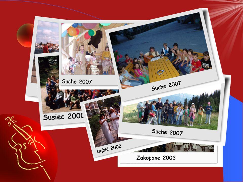 Za chwilę obejrzysz w jaki sposób będziesz mógł spędzać czas na wyjazdach organizowanych przez naszą Szkołę.