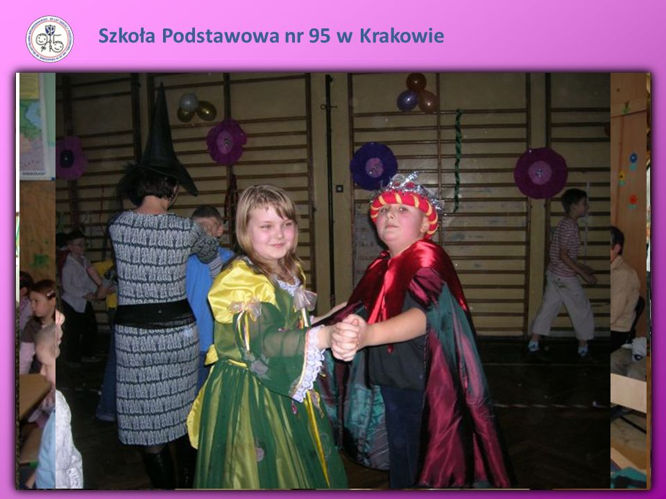 Szkoła Podstawowa nr 95 w Krakowie Szkoła realizuję program łagodnej adaptacji dzieci w środowisku szkolnym: -Dzień otwarty dla przedszkolaków - sobot