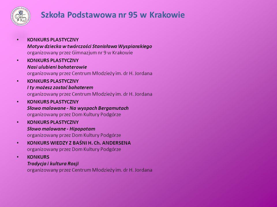 KONKURS PLASTYCZNY Motyw dziecka w twórczości Stanisława Wyspianskiego organizowany przez Gimnazjum nr 9 w Krakowie KONKURS PLASTYCZNY Nasi ulubieni b