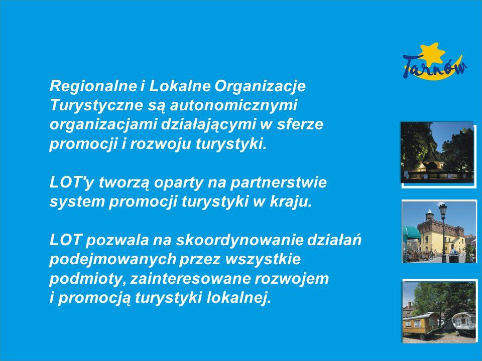 Zalety LOT: wprowadzenie nowego systemu zarządzania w turystyce, wykształcenie trwałych więzi współpracy regionalnej i lokalnej, wykreowanie silniejszej reprezentacji regionów, możliwość pozyskiwania środków pomocowych, łączenie funduszy publicznych i prywatnych, zapewnienie większej efektywności promocji, koordynacja przedsięwzięć umożliwiających bardziej efektywne wykorzystanie środków,