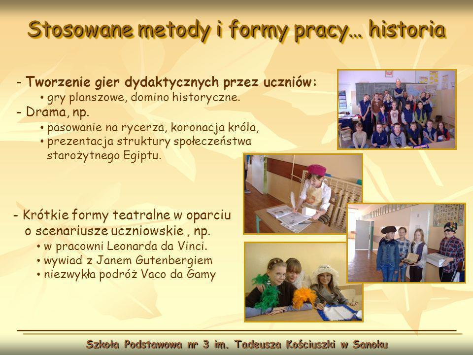 Wychowanie fizyczne … Szkoła Podstawowa nr 3 im.